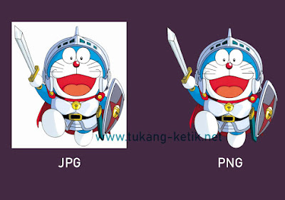 Cara Cepat Convert Gambar JPG ke PNG Background Transparan | #tukangketik