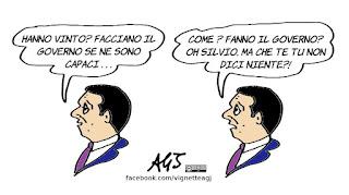 renzi, lega, m5s, governo, politica, satira, vignetta