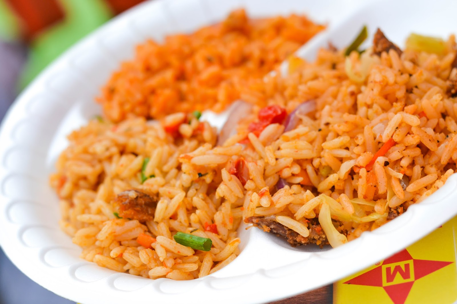 Maggi Jollof Rice Bar at She Leads Africa Slay Festival