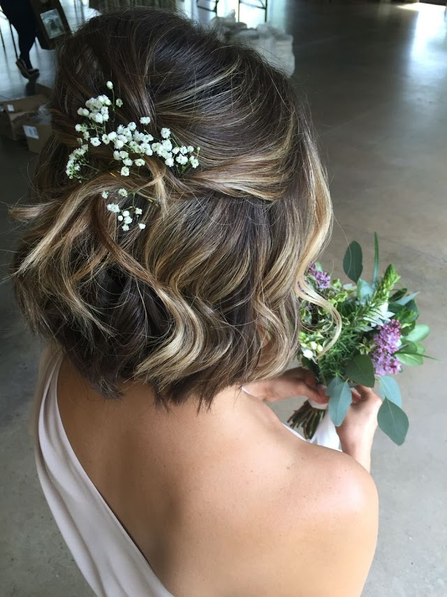 Bridesmaid Hairstyles for Short Hair | Best Hairstyles for Bridesmaids