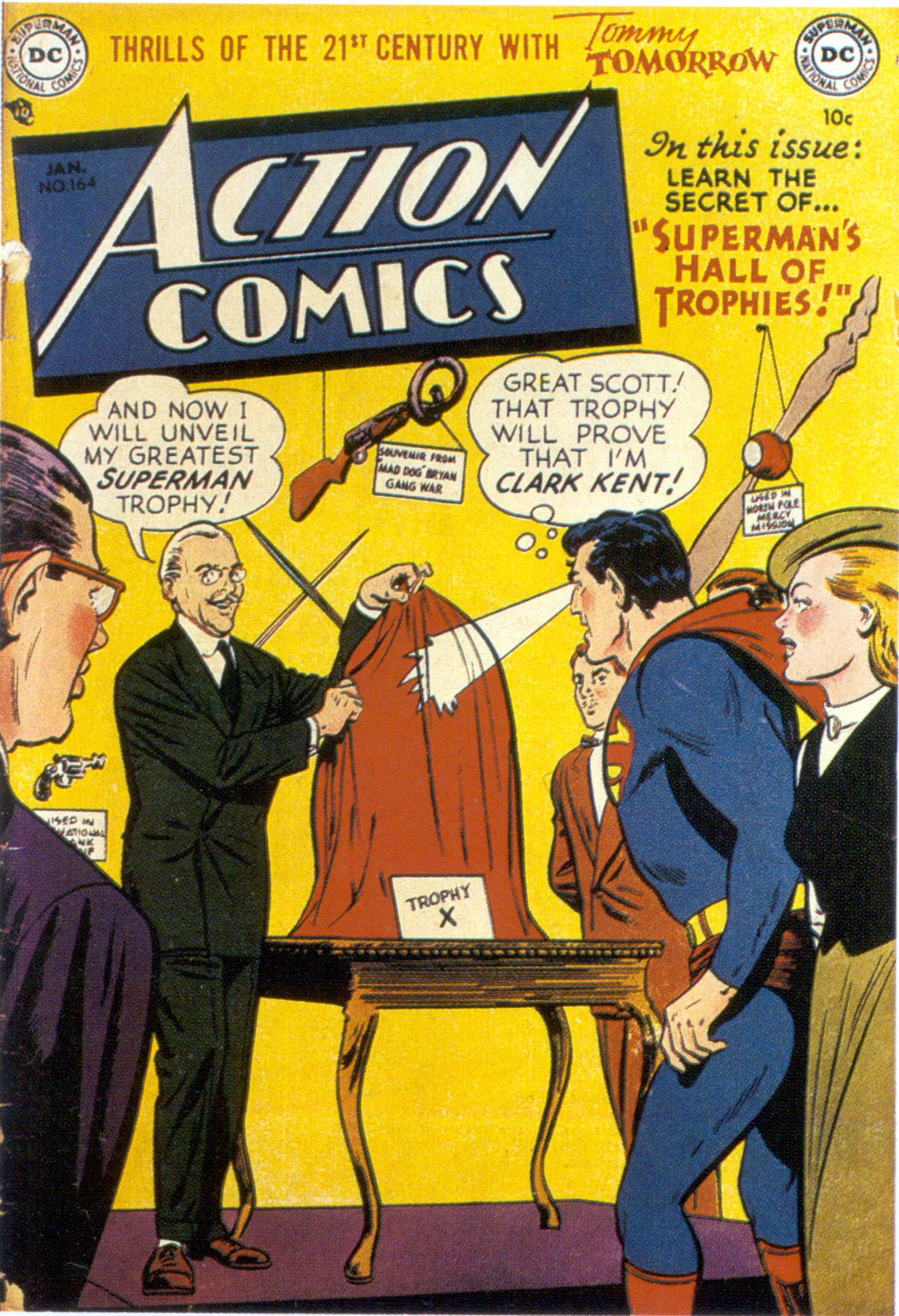 Read online Action Comics (1938) comic -  Issue #164 - 1