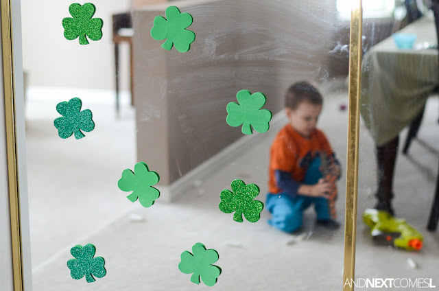 St. Patrick's Day activity for kids from And Next Comes L