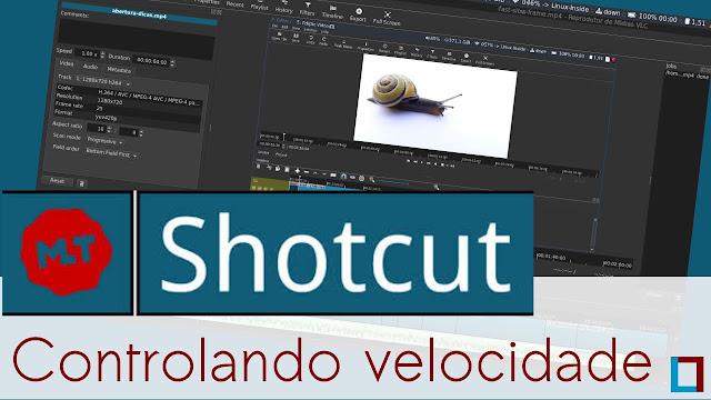 Vídeo: Aprenda nessa dica rápida a controlar a velocidade de um vídeo no Shotcut
