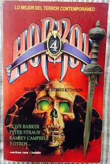Portada del libro Horror 4, de varios autores