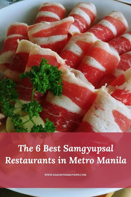 Best samgyupsal restaurants in Metro Manila