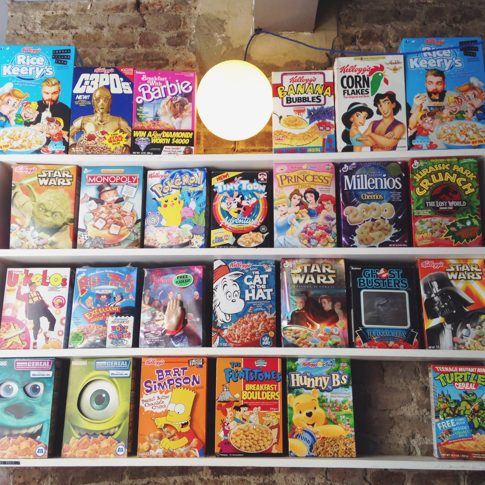 cereal killer cafe in london