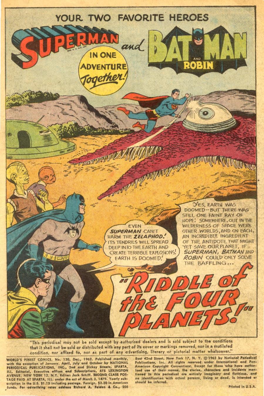 Read online World's Finest Comics comic -  Issue #130 - 3