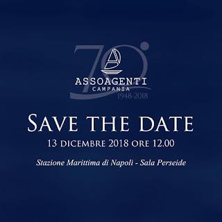 Assoagenti Campania, festeggia i 70 anni di attività