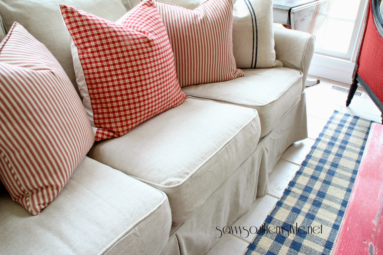 beach house sofa slipcover how to make slipcovers for without sewing custom and couch cover any online