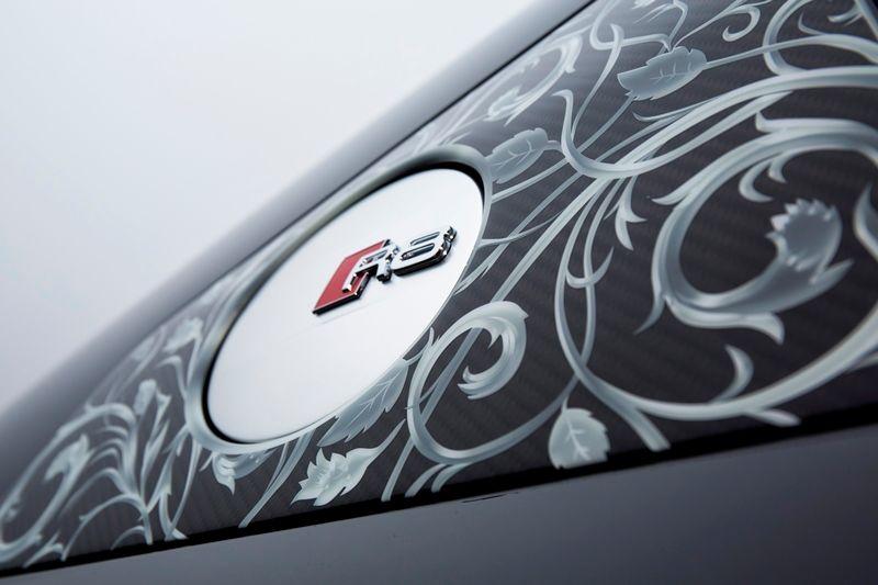 Audi R8 car logo