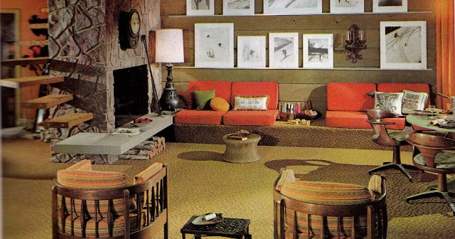 1960s Interior Decor The Decade Of Psychedelia Gave Rise To Inventive And Bold Interior Design Vintage Everyday