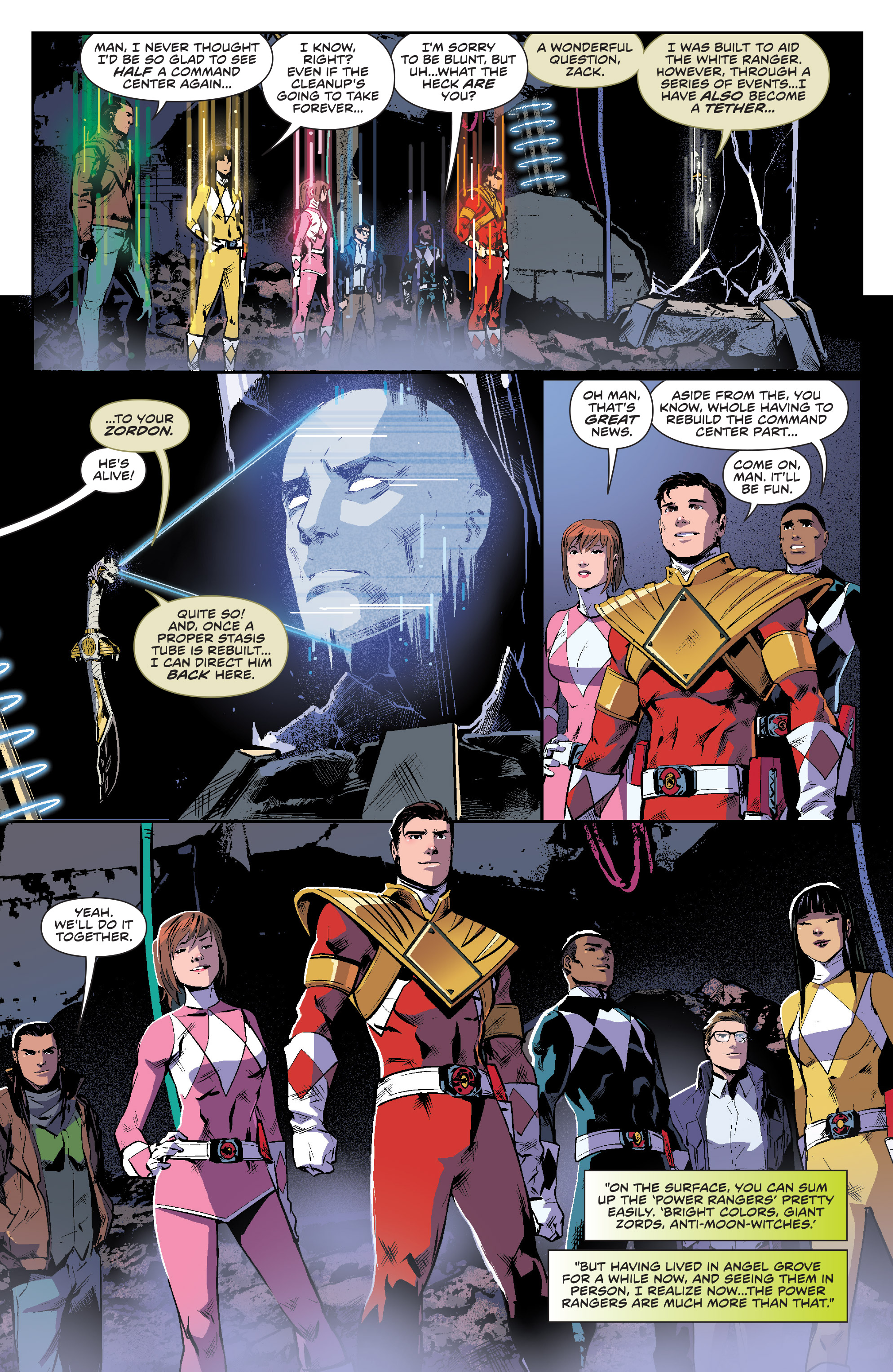 Read online Mighty Morphin Power Rangers comic -  Issue #16 - 18
