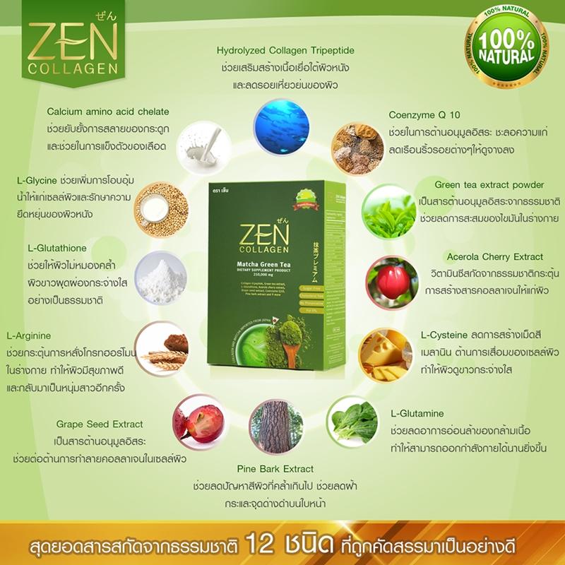 Zen Collagen เซ็นคอลลาเจน