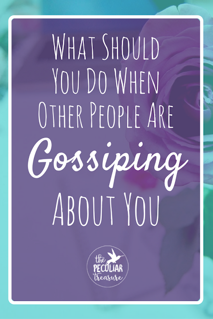 Have you ever been lied about? Have you ever been the brunt of someone's gossip? How are you supposed to handle that? What should you do? Keep reading to find out!