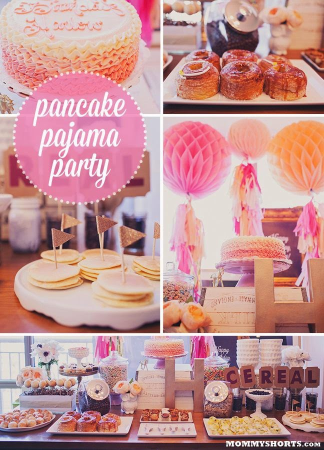 Pancakes and Pajama First Birthday Party Theme