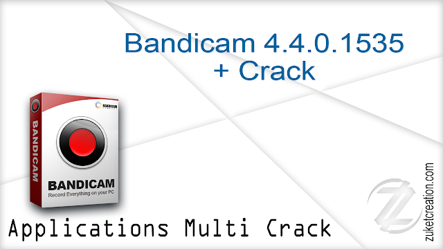 Bandicam 4.4.0.1535 + Crack  |  18,3 MB