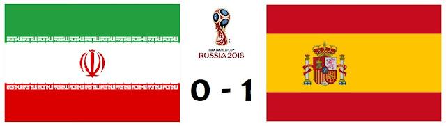 Irán 0-1 España / Mundial de Rusia 2018 - el troblogdita - ÁlvaroGP
