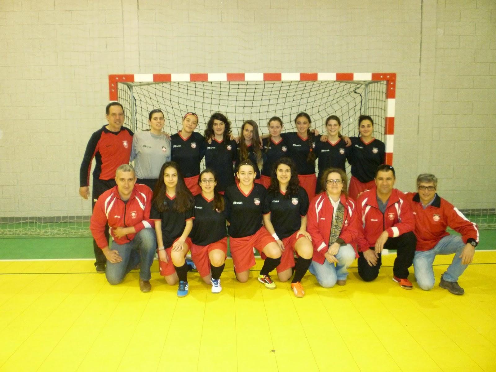 """Futsal Feminino – Campeonato Distrital de Juniores """" Indefectíveis vencem  CB Alcochete no 1º jogo das meias-finais (5-1)"""" f58fbf459400b"""