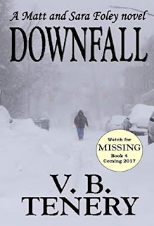 Downfall - a WWII romantic Suspense by V. B. Tenery