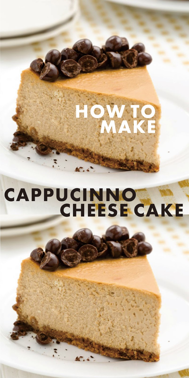 CAPPUCINO CHEESE CAKE