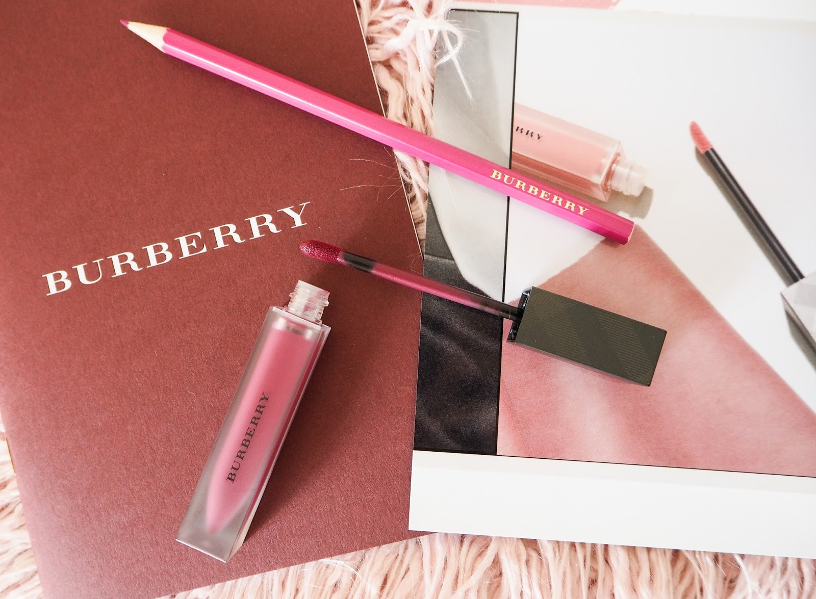Burberry Lip Velvet Liquid Lipstick in Bright Plum