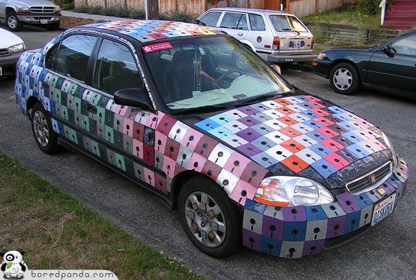 Floppy-Disk Car-1