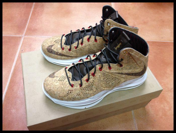 Nike Lebron X Cork --- Live PhotosNike Lebron X Cork Box