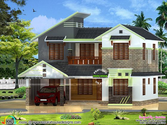 5 BHK house design