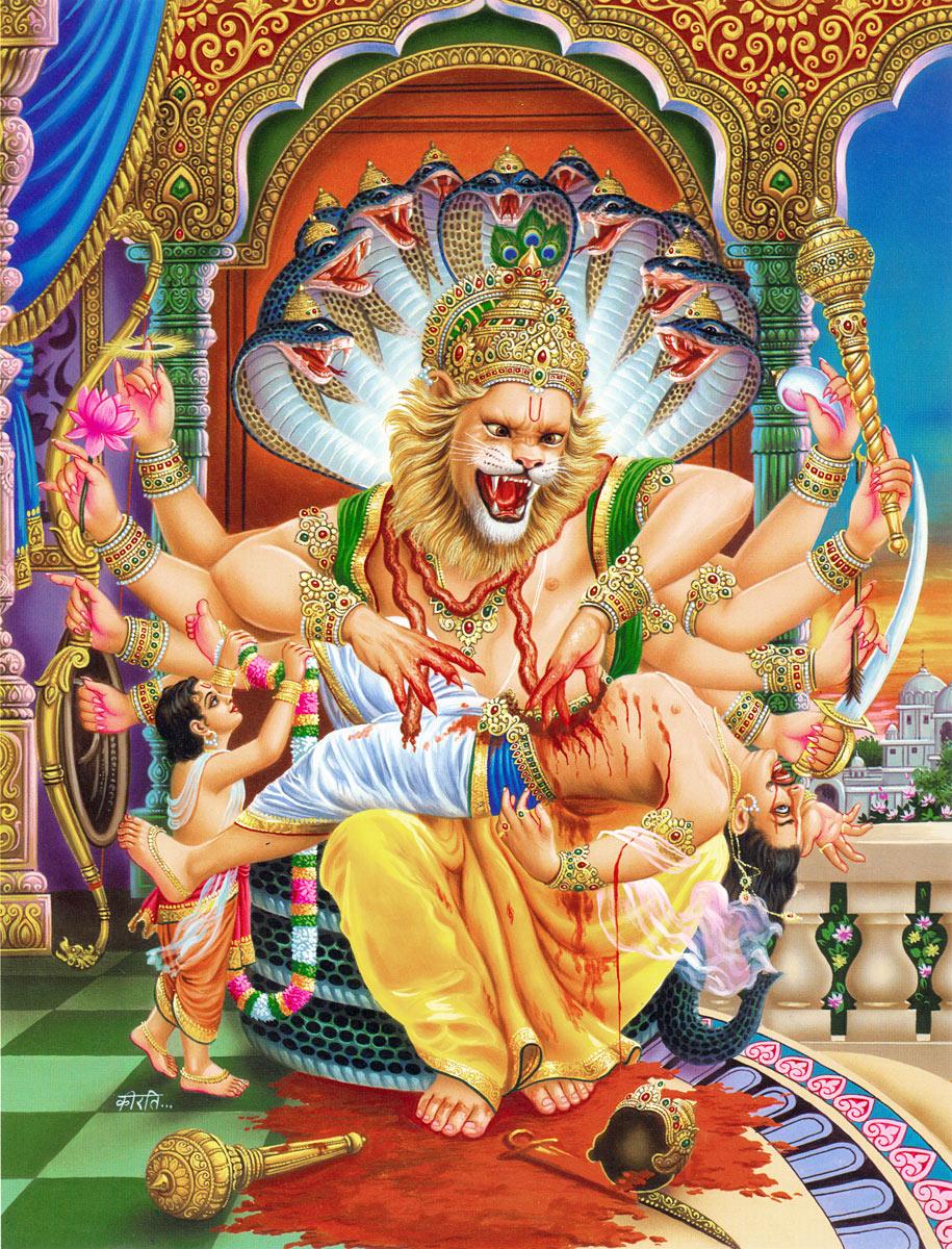 Cool Lion Wallpapers Hd Lord Narasimha Miracles Images Photos Wallpapers Hd 2018