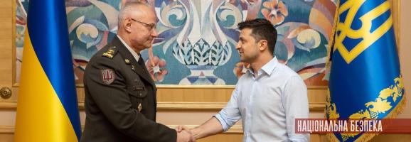 Зеленський призначив Хомчака начальником Генштабу