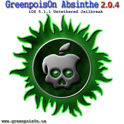 Download Absinthe 2.0.4 To Jailbreak iOS 5.1.1 Untethered On All iDevices Include iPad 2,4
