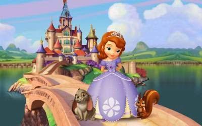 Lembrancinhas princesa Sofia
