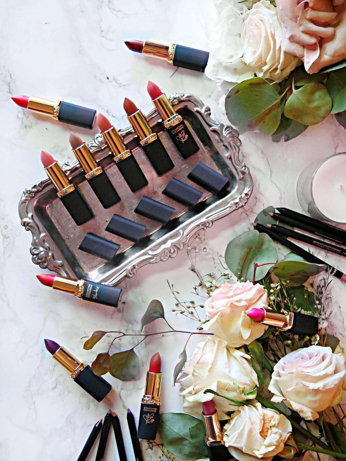 Matte Addiction | New L'Oreal Paris Colour Riche Matte Lipsticks & Lip Liners | Review & Swatches | labellesirene.ca