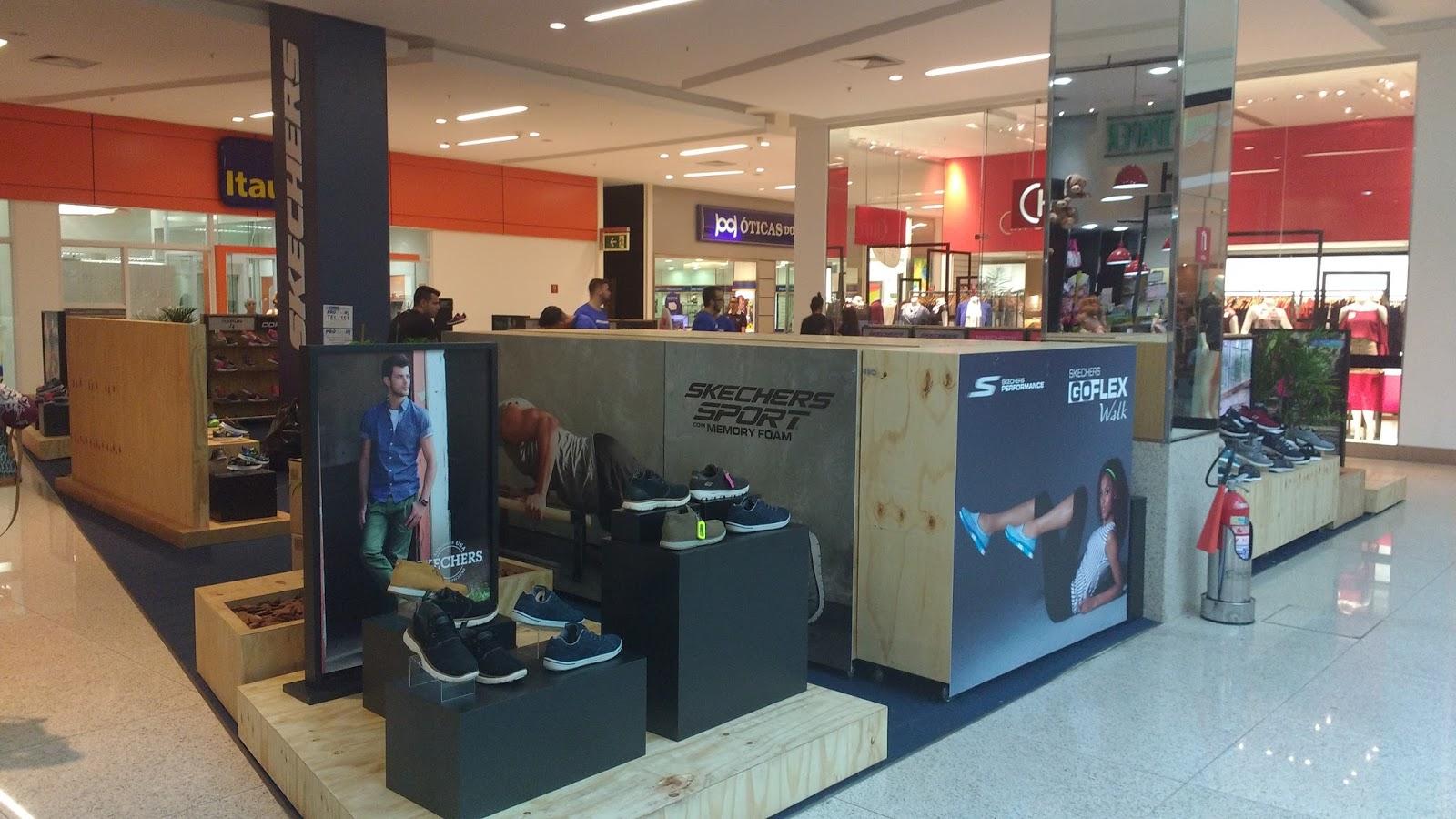 870a0e11a8 A SKECHERS do Brasil Calçados anuncia a abertura de sua décima terceira loja  exclusiva no Brasil