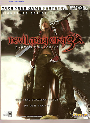 Devil may Cry 3 Dante's Awakening Official Strategy Guide