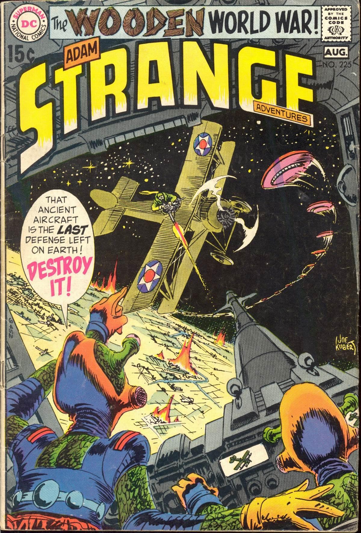 Strange Adventures (1950) issue 225 - Page 1