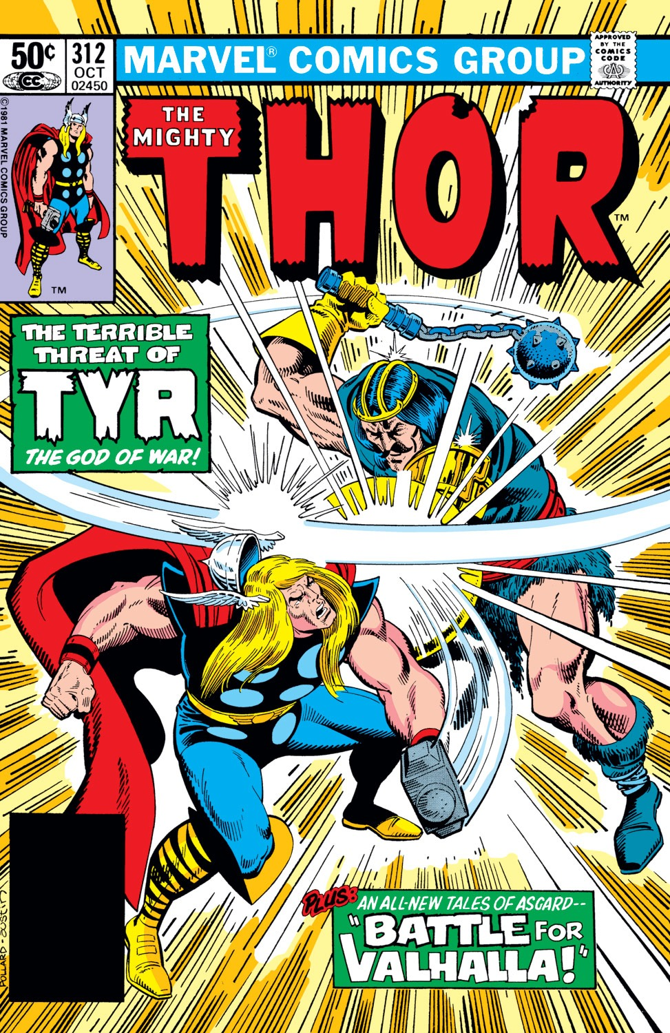 Thor (1966) 312 Page 1