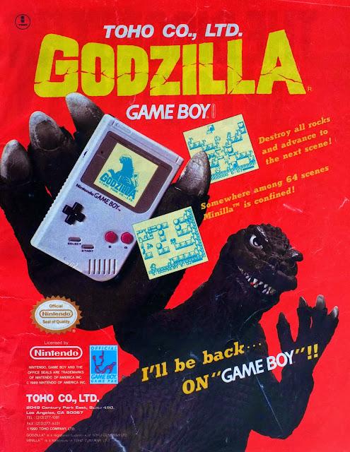Godzilla advertisment
