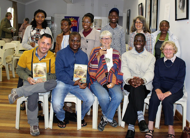 The author with NUST students and close friends