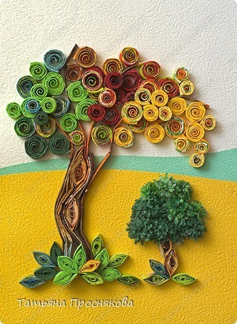 How To Make A Tissue Paper Tree Quilling Crazzy Craft