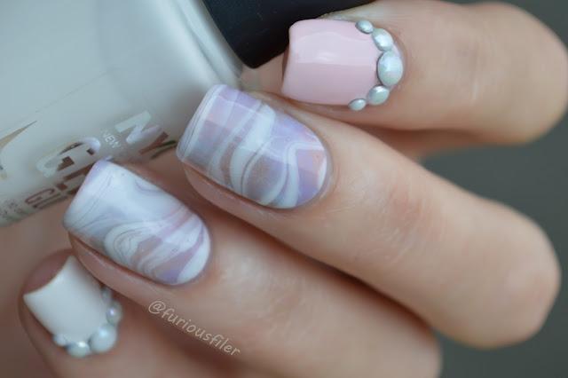#31dc2015 watermarble delicate sweet pearls 3d