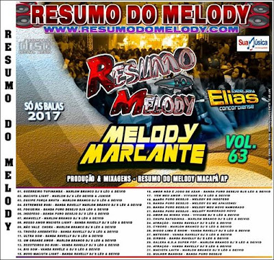 Cd Resumo do Melody vol.63