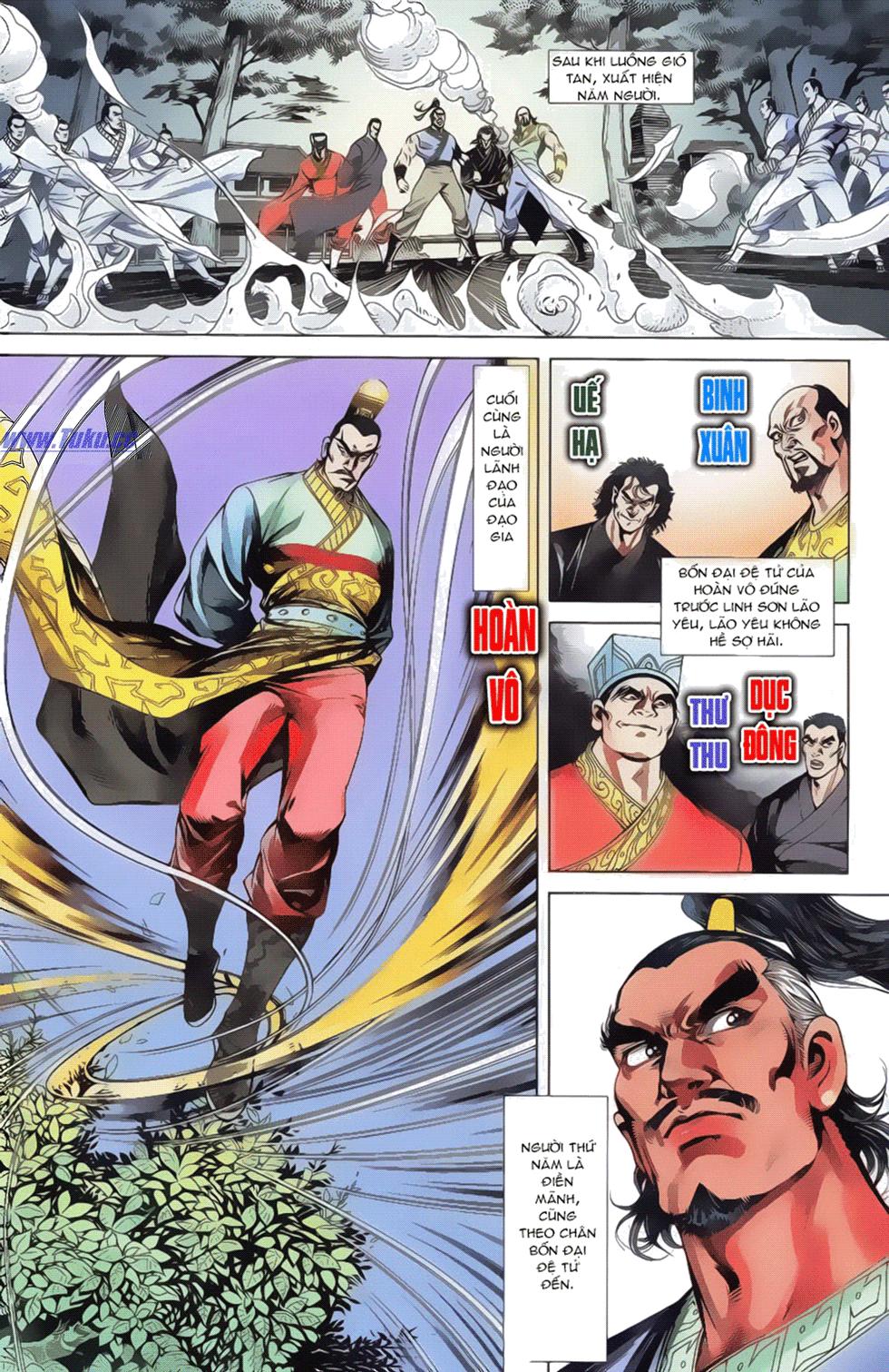Tần Vương Doanh Chính chapter 17 trang 6