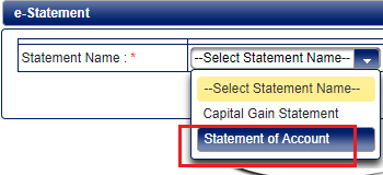 Sundaram Mutual Fund Account Statement