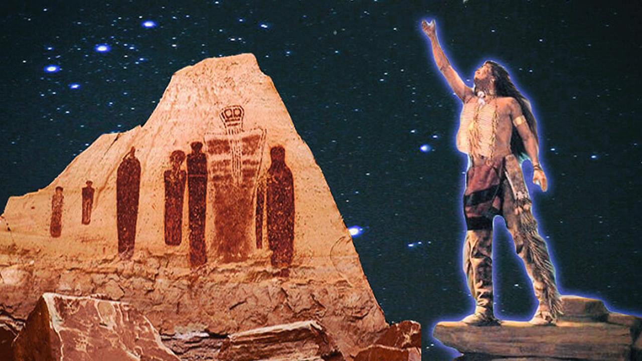 La «Gente de las Estrellas» y los «Escudos Voladores» según las Tribus Americanas
