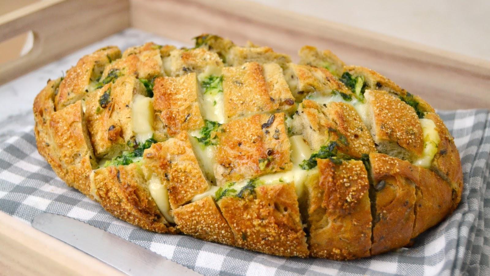 receta de pan de queso facil casero