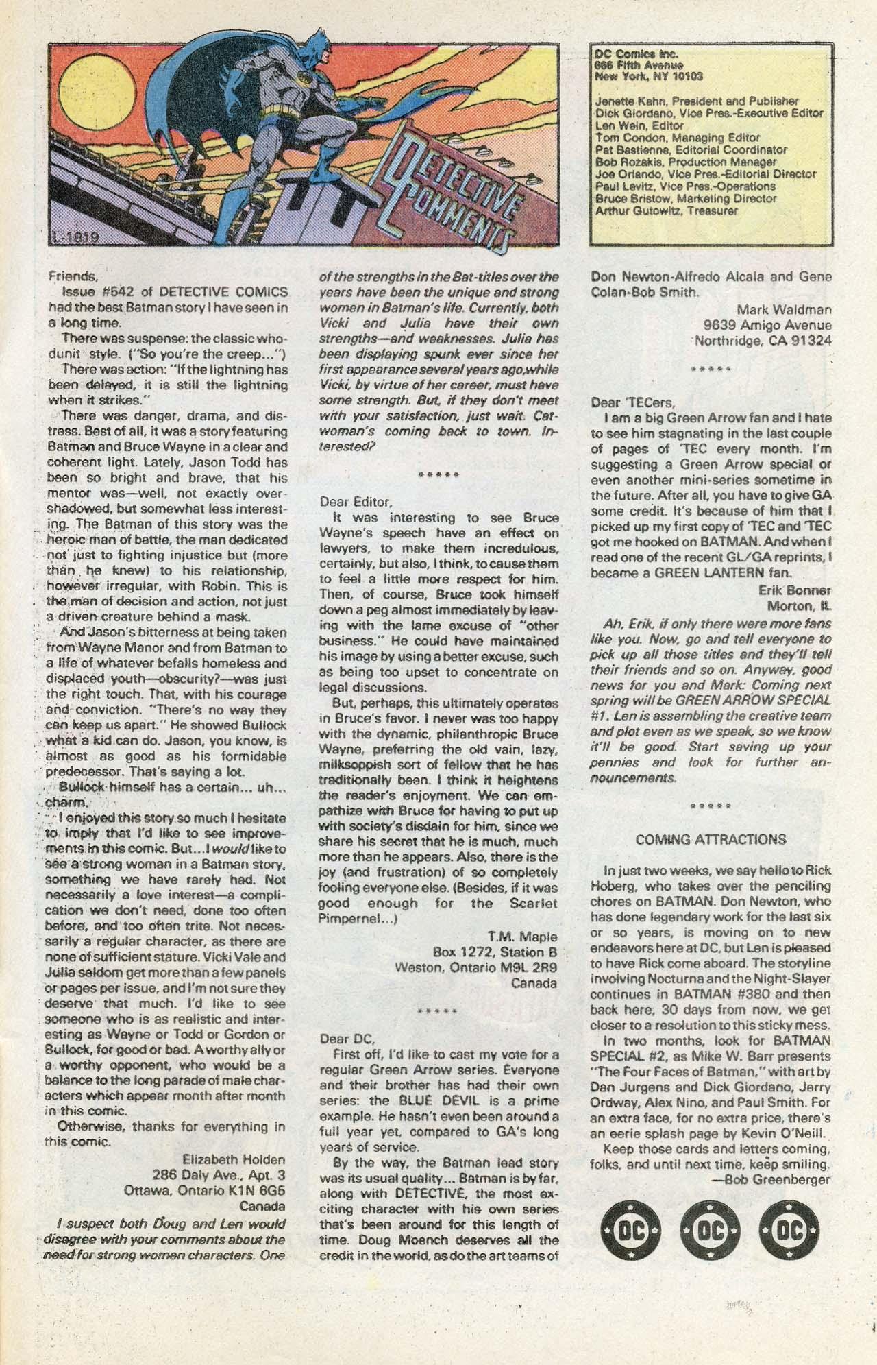 Detective Comics (1937) 546 Page 31
