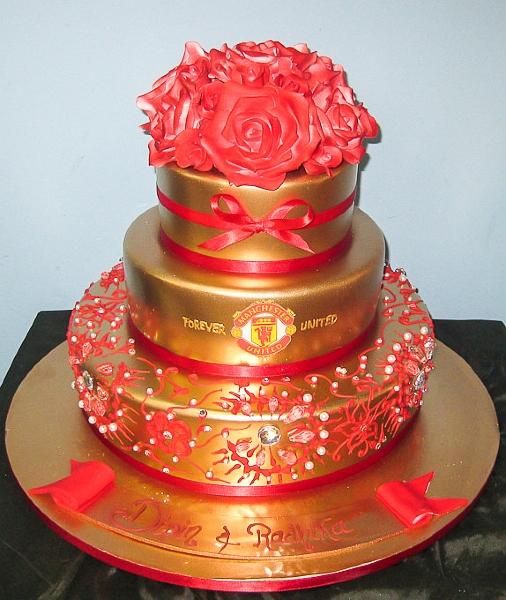 wedding cakes pictures manchester united wedding cake wedding cakes pictures