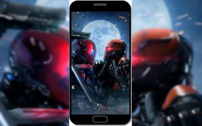 Red Hood VS Deathstroke - Fond d'Écran en QHD pour Mobile