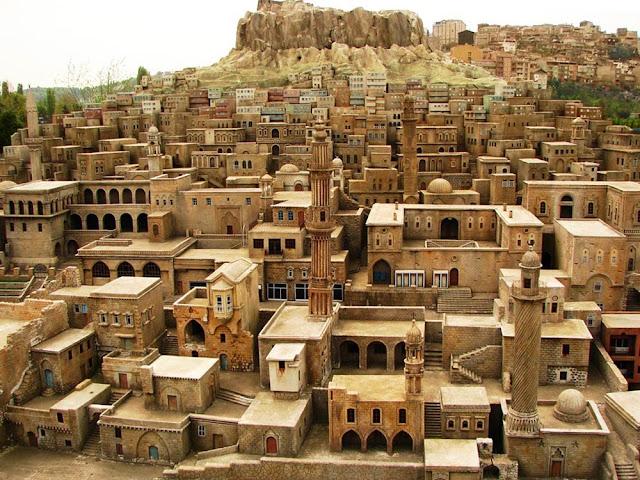 Miniatura da cidade de Mardin – Turquia